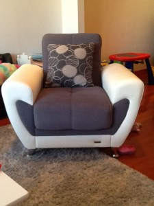 Armchair-Walnut Creek-Upholstery-cleaning